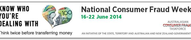 National Consumer Fraud Week